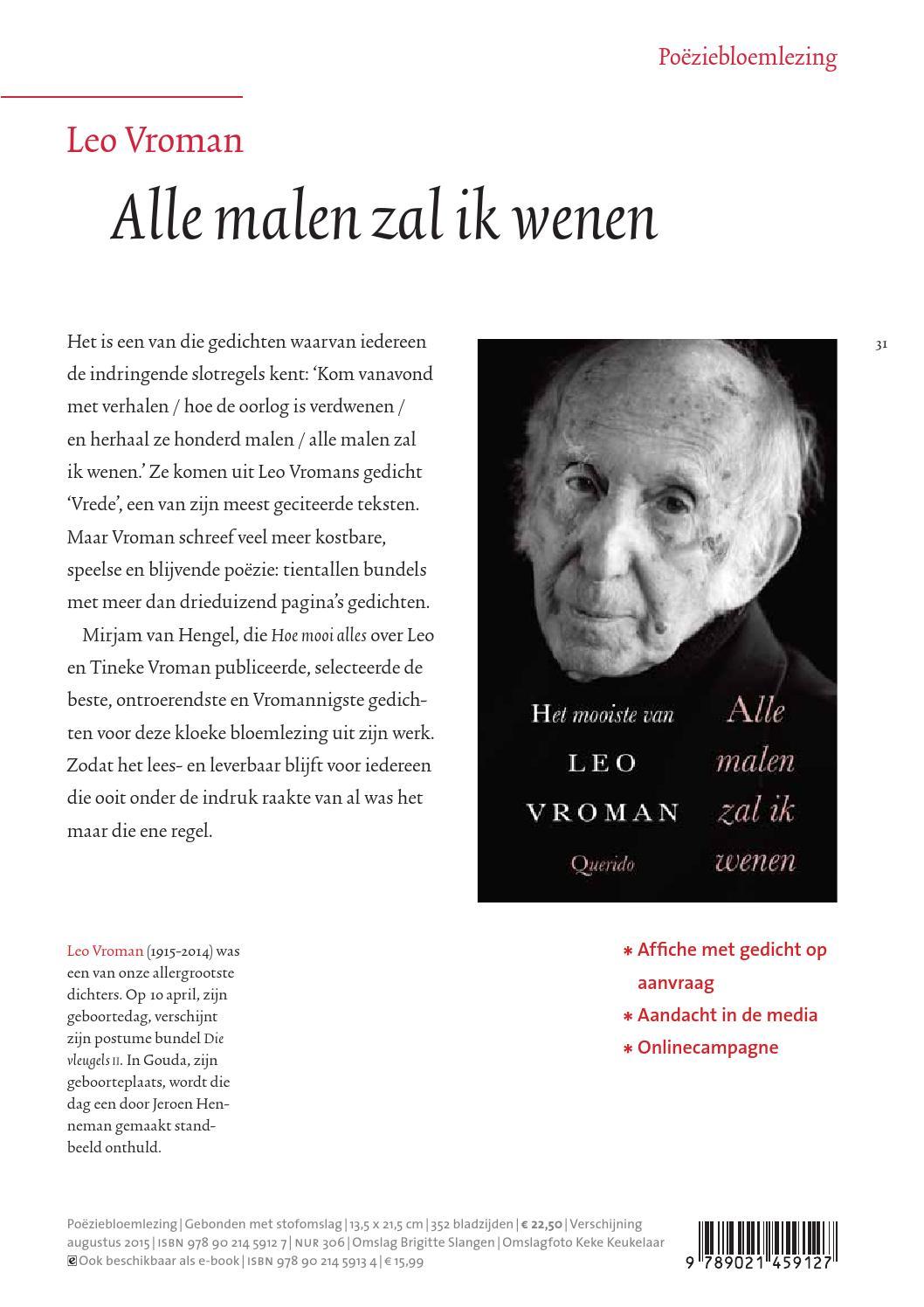 Prospectus Querido Zomer 2015 By Singel Uitgeverijen Issuu