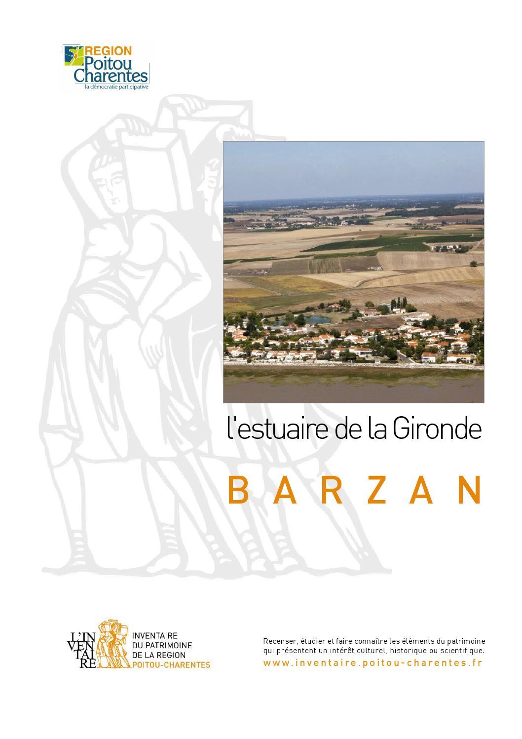 Lestuaire De La Gironde Barzan By Region Poitou Charentes