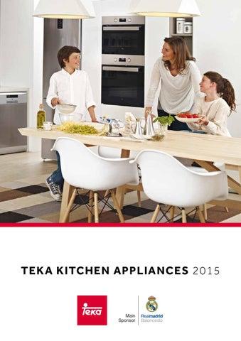 Teka kitchen appliances 2015 by Teka Corporate Marketing ...
