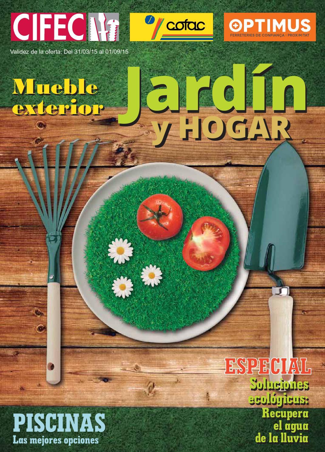 catalogo jardineria 2015 cofac ferreteria diaz by cofedisa