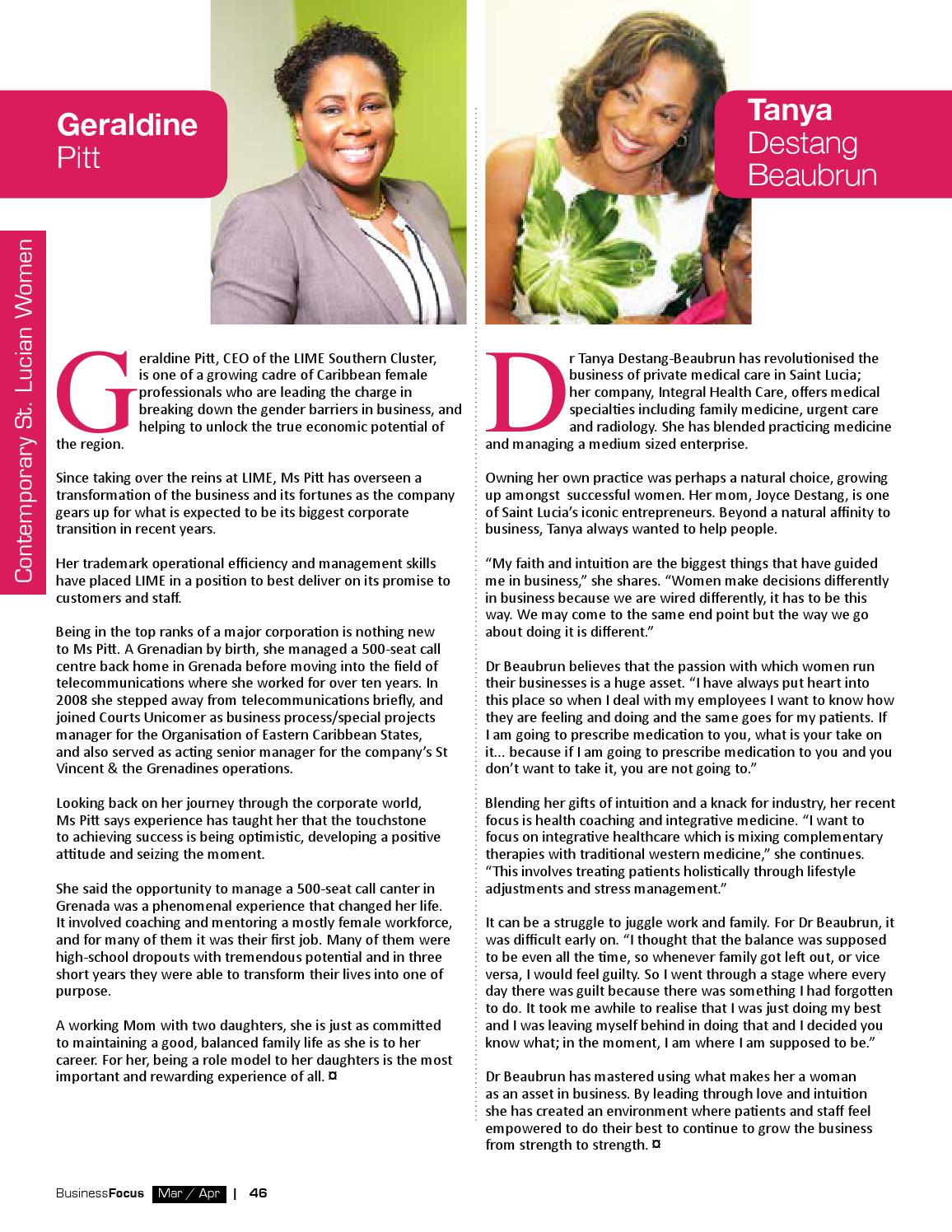 St. Lucia Business Focus 80 by AMS St. Lucia - issuu