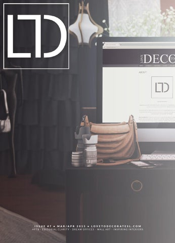 LTD Magazine March April 2015 By Love To Decorate