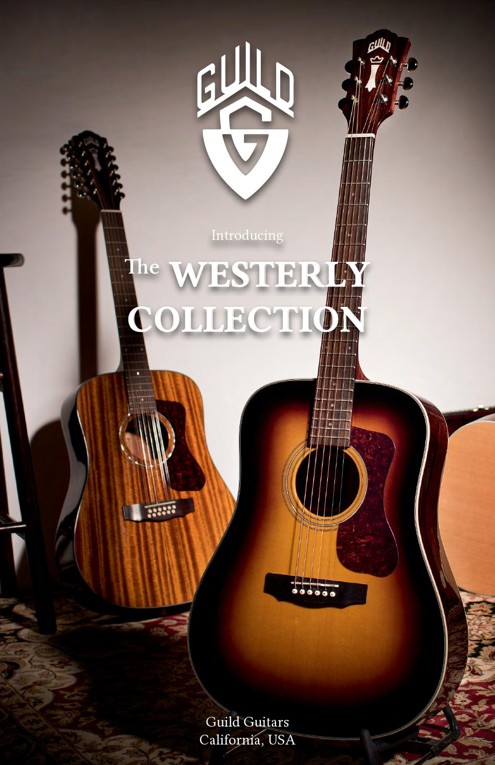 Guild Guitars | The Westerly Collection by Guild Guitars