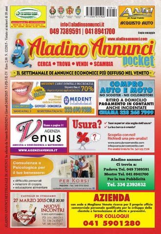 Aladino Annunci 12 2015 by Andrea Ferraccioli - issuu