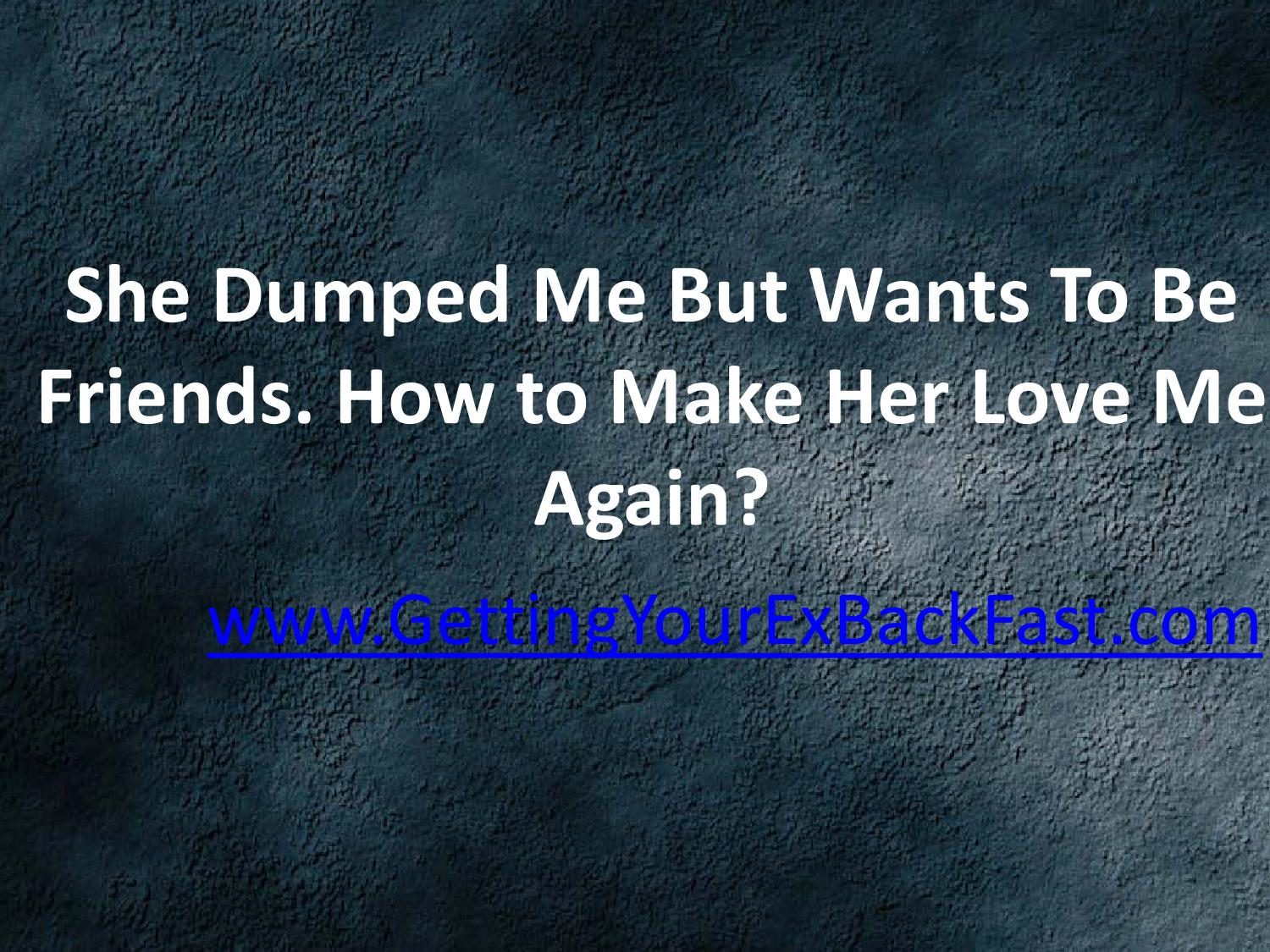 She dumped me by text