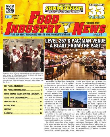 Food Industry News April Web Edition By FoodIndustryNews Issuu - What is a deposit invoice rocco's online store
