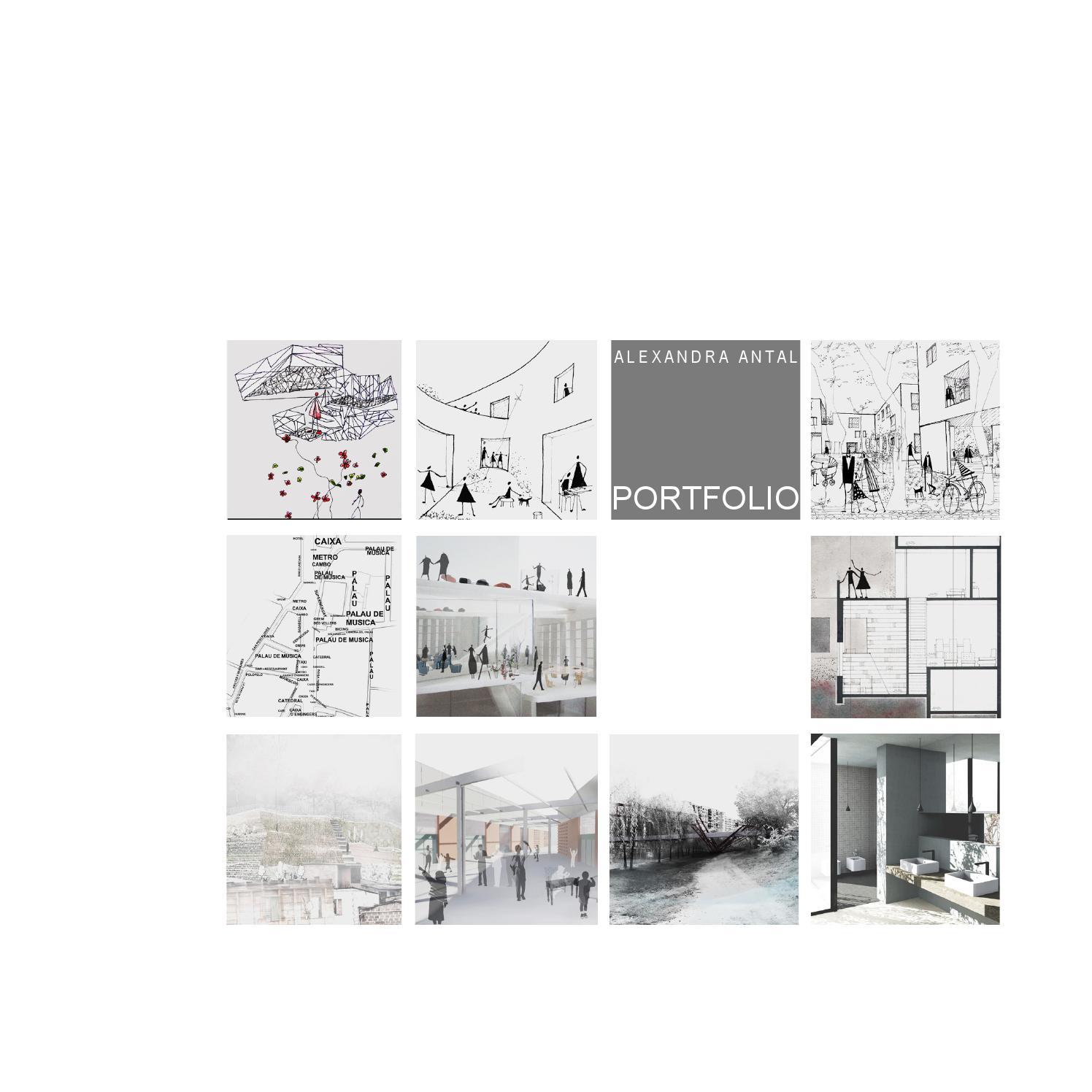 Alexandra antal portfolio architecture by maria for Portfolio architektur