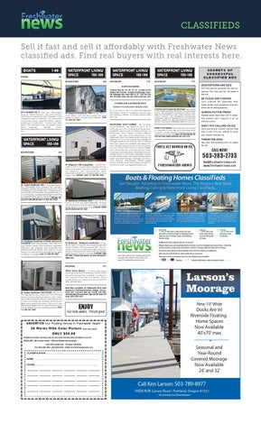 Freshwater News | Classifieds February '14 by Freshwater