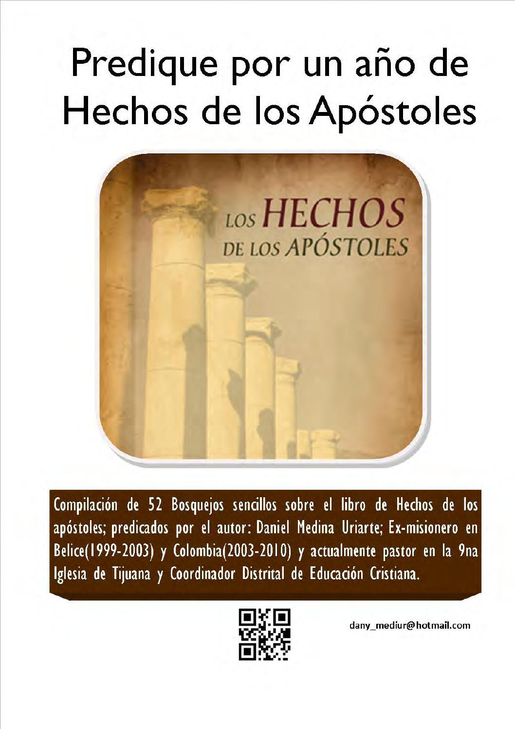 Predique Por Un Año De Hechos De Los Apostoles By Gen123tv