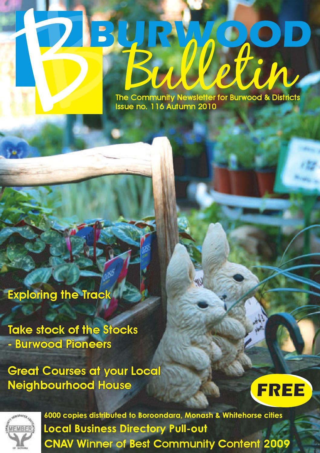 Burwood bulletin issue #116 by Burwood Bulletin - issuu