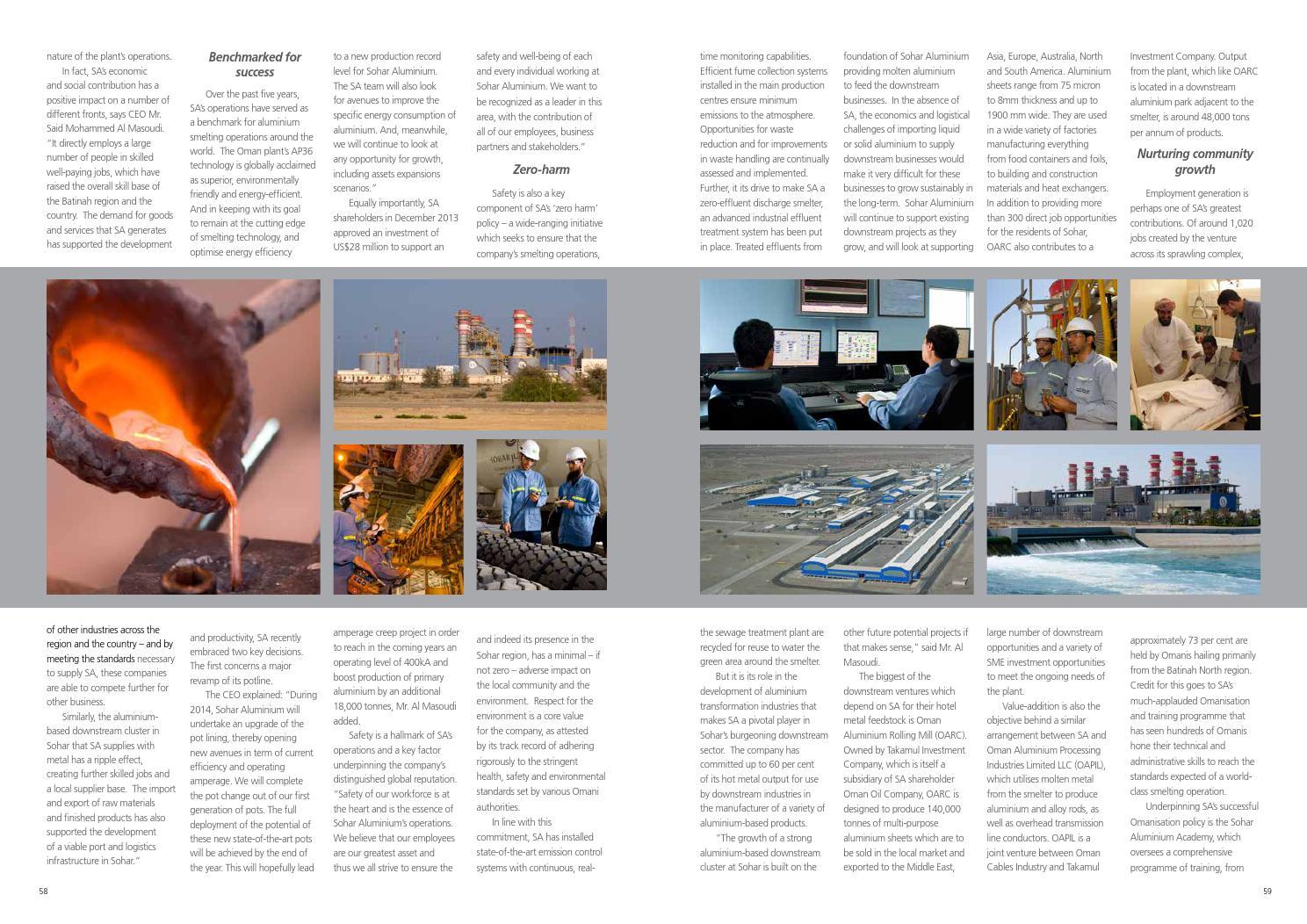 Port of Sohar & Freezone Magazine 2014, Issue 7 by Oman