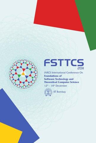 FSTTCS Event Booklet