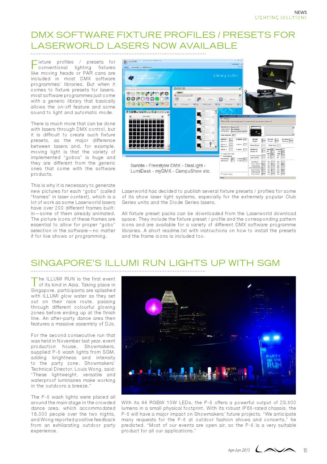 LAVA Vol  2 / 2015 by Lighting Audio Visual Asia - issuu