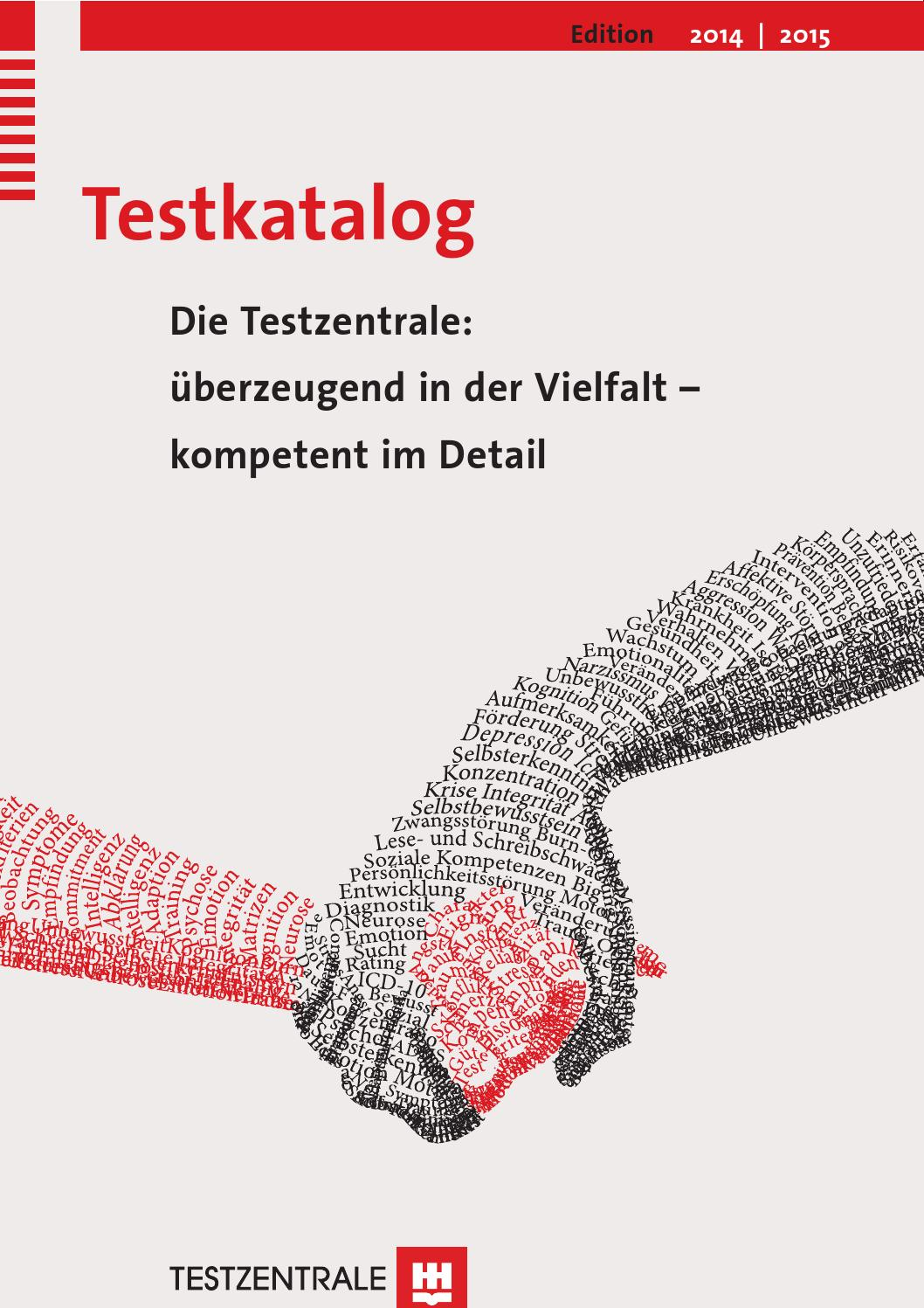 Testkatalog 2014/2015 by Hogrefe - issuu