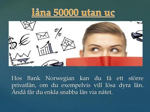 privatlån utan uc 50,000 kr