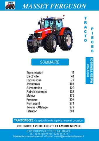 135 Pompe À Carburant avec Bol 35 X Massey Ferguson Tracteur 35