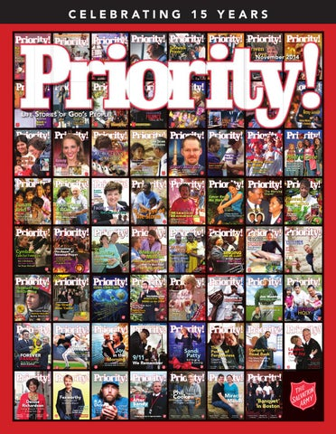 Priority commemorative 2014 by the salvation army saconnects issuu page 1 fandeluxe Choice Image