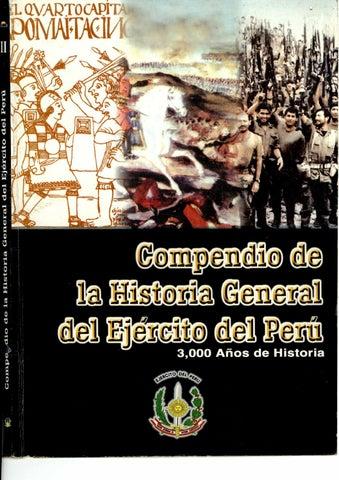 Compendio de la Historia General del Ejército del Perú by Biblioteca ...