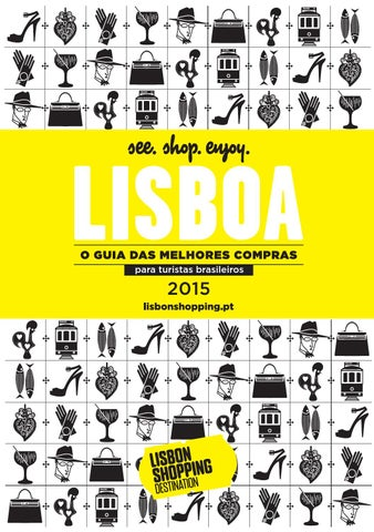 165fc965d075b Guia das melhores compras l Lisbon Sopping Destination 2015 by Café ...