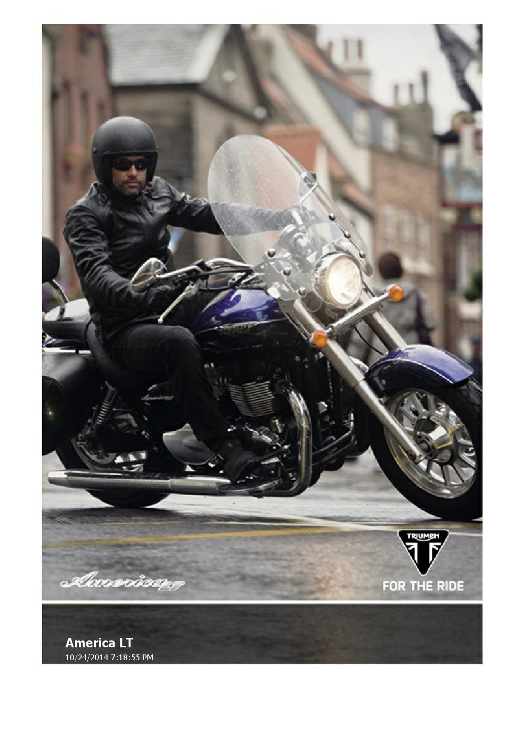 Fantastic 2015 Triumph America Lt Brochure By Mototainment Ducati Caraccident5 Cool Chair Designs And Ideas Caraccident5Info
