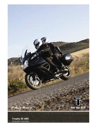 Owners Manual Triumph Rocket Iii Touring Abs By Mototainment