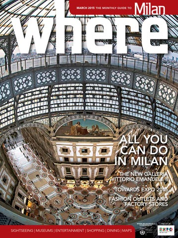 699fae39e03 Where Milan n 53 March 2015 by Where Italia - issuu