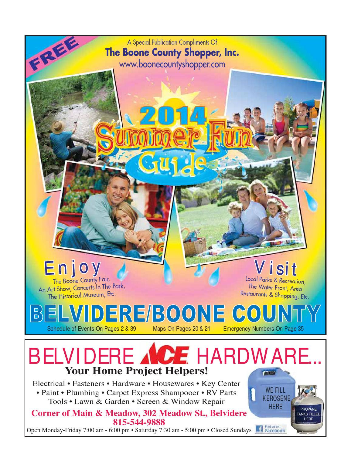 Belvidere Boone County Guide 2014 By Boone County
