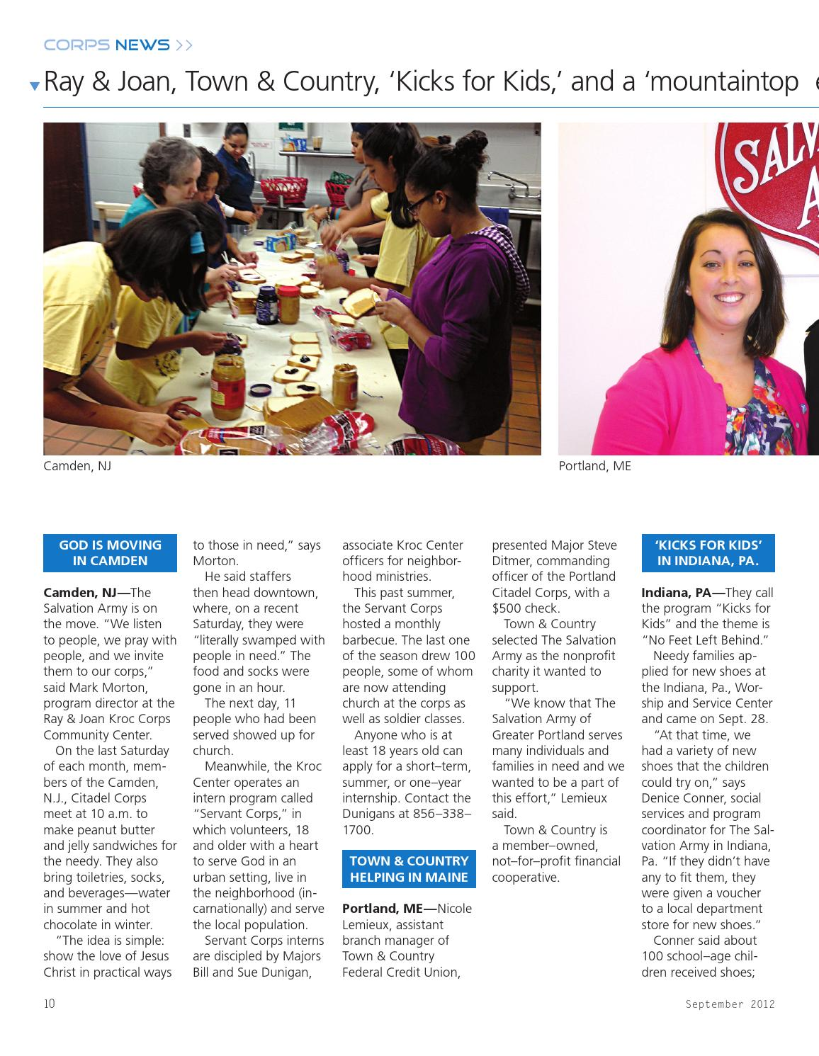 Good News! december 2012 by The Salvation Army: SAconnects - issuu