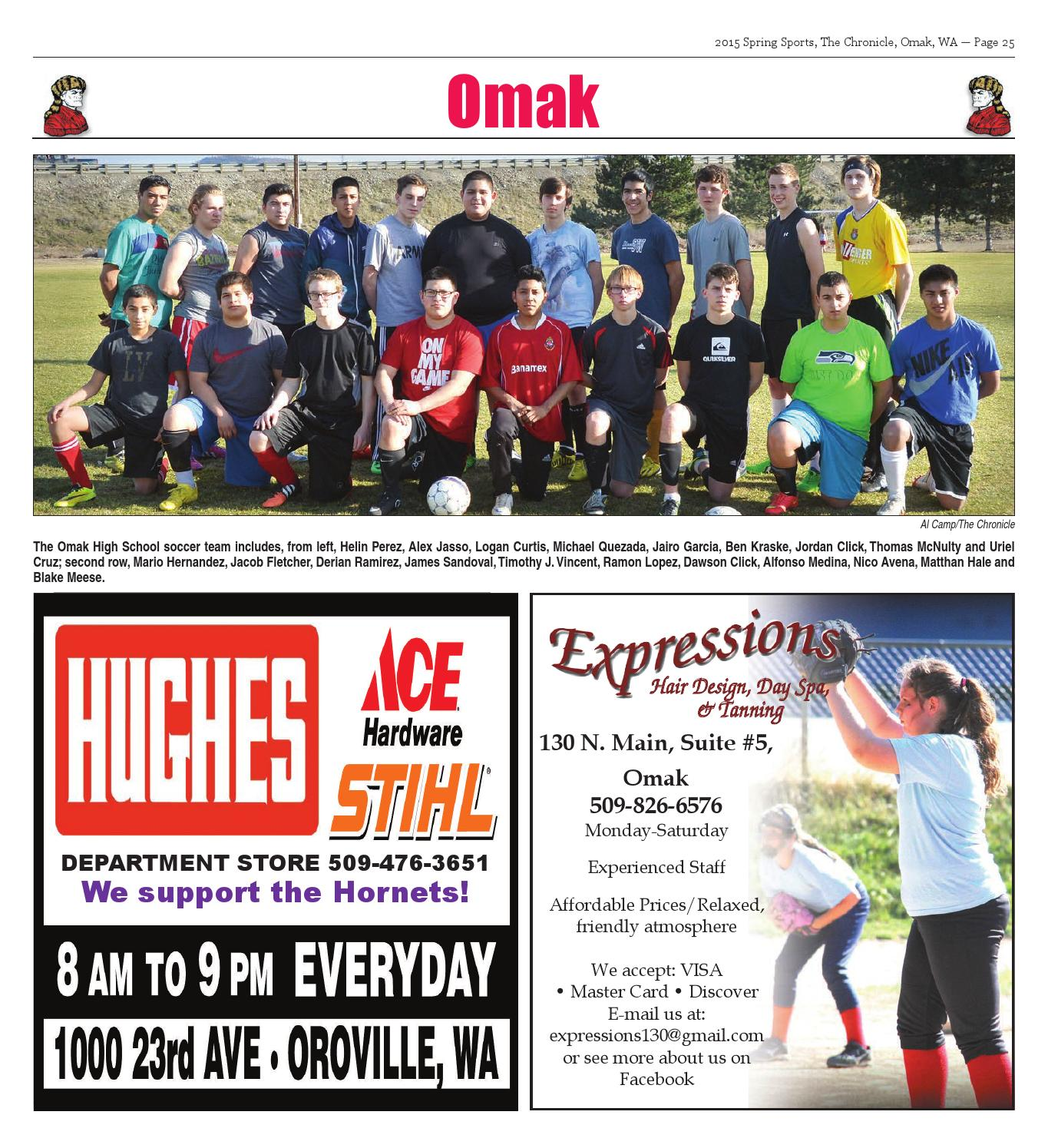 2015 Spring Sports By The Omak-Okanogan County Chronicle