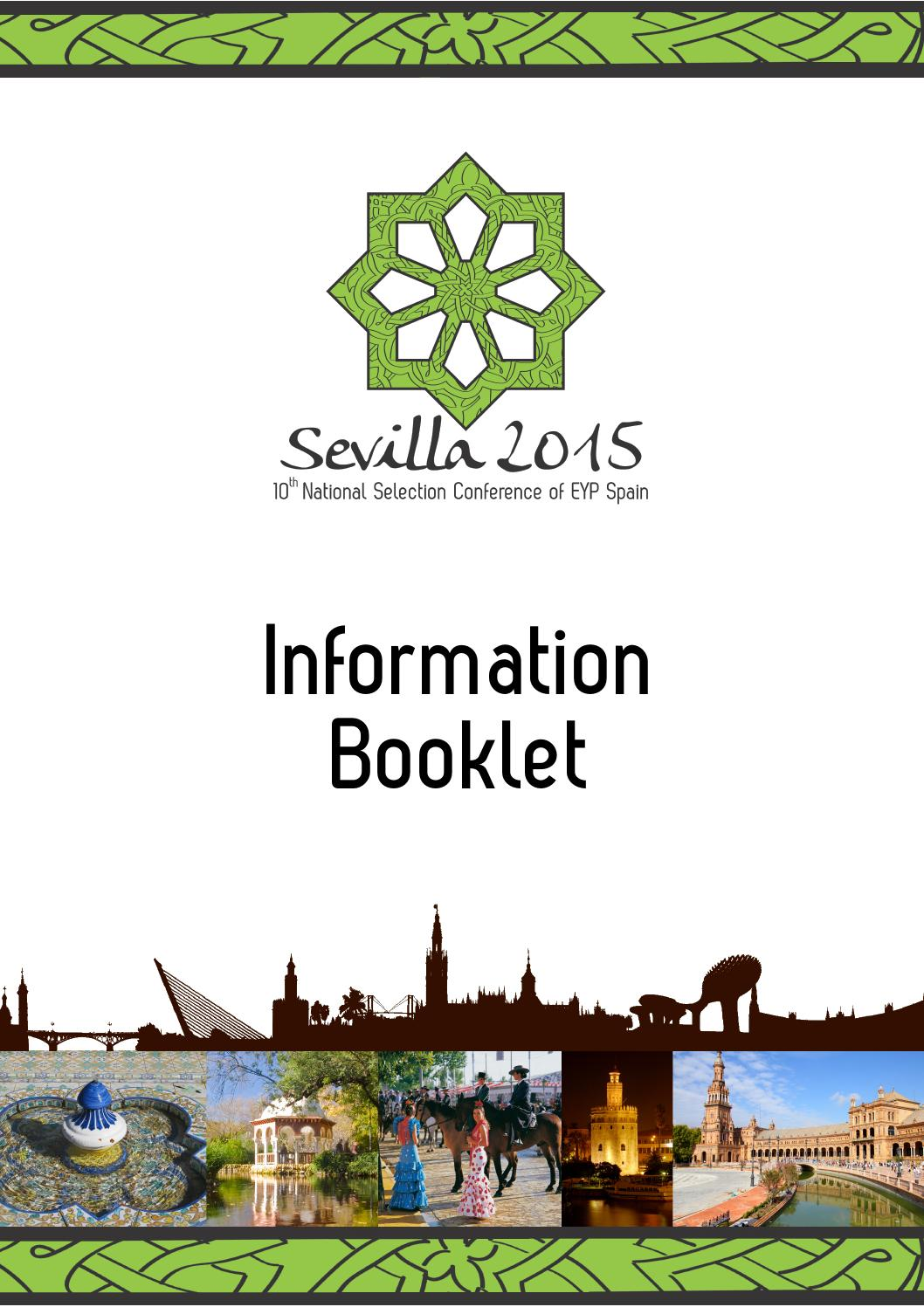 Information booklet sevilla 2015 by european youth parliament