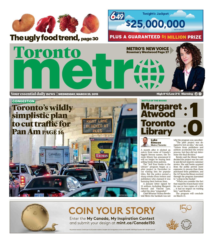 cb130ad44b140 20150325 ca toronto by Metro Canada - issuu
