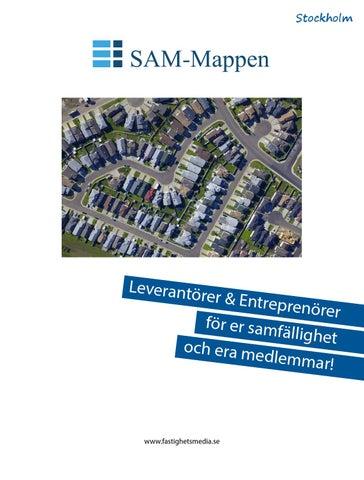 Leverantörer & Entreprenörer för er samfällighetsförening och era medlemmar. December 2014.
