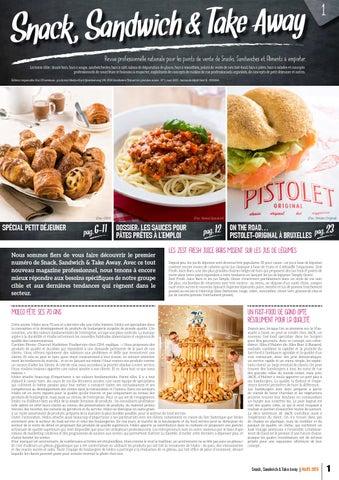 Snack, Sandwich   Take Away - FR - n° 1 by Invent Media - issuu 8c4542156ac