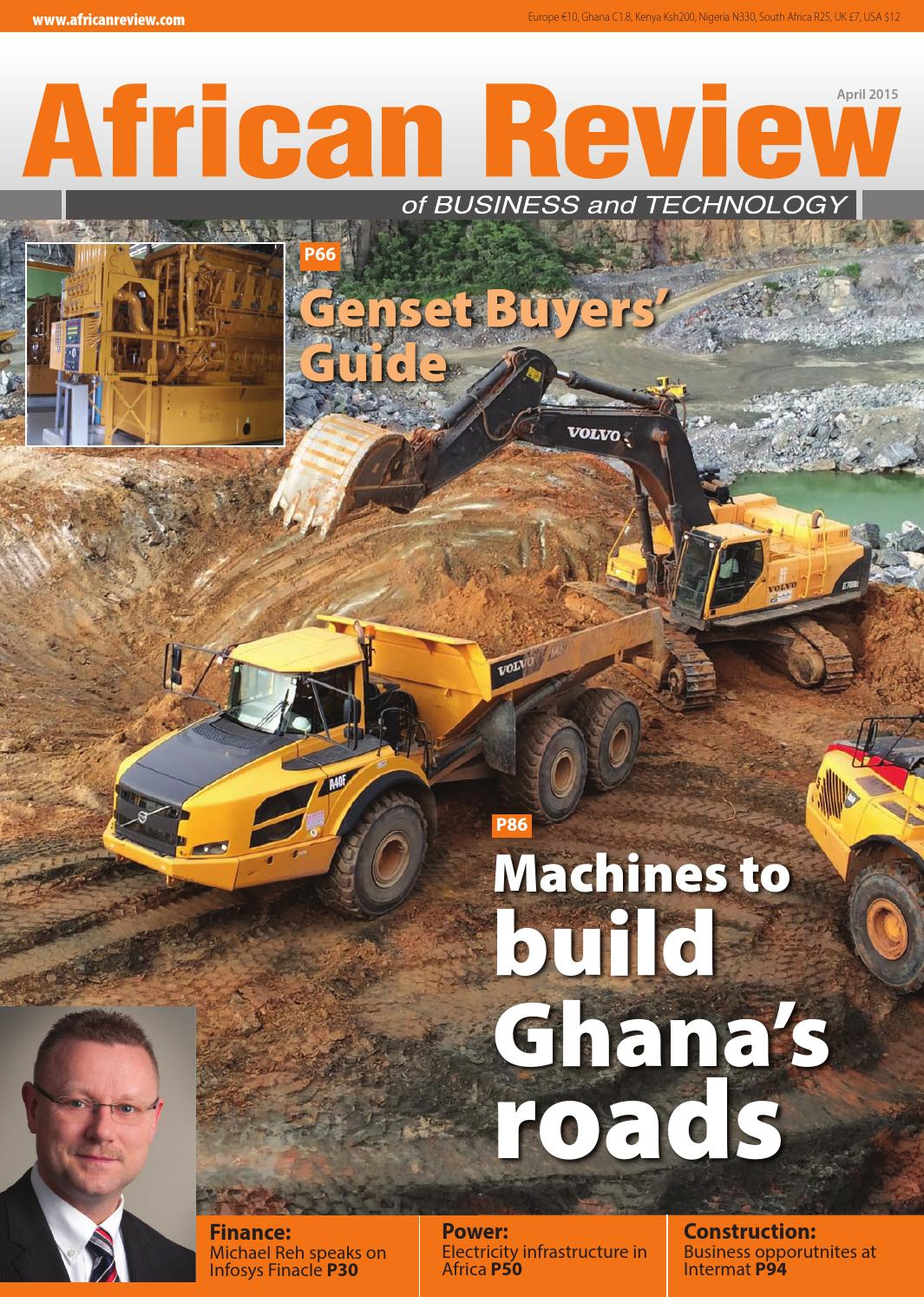 African Review April 2015 By Alain Charles Publishing Issuu Wiring Harness And Mobile Processor Greenstar John Deere