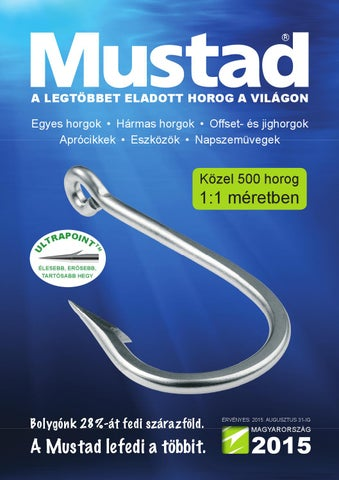 Mustad horgászcikk katalógus 2015 (magyar) by LaNiTex Kft. - issuu 2c52b423cb