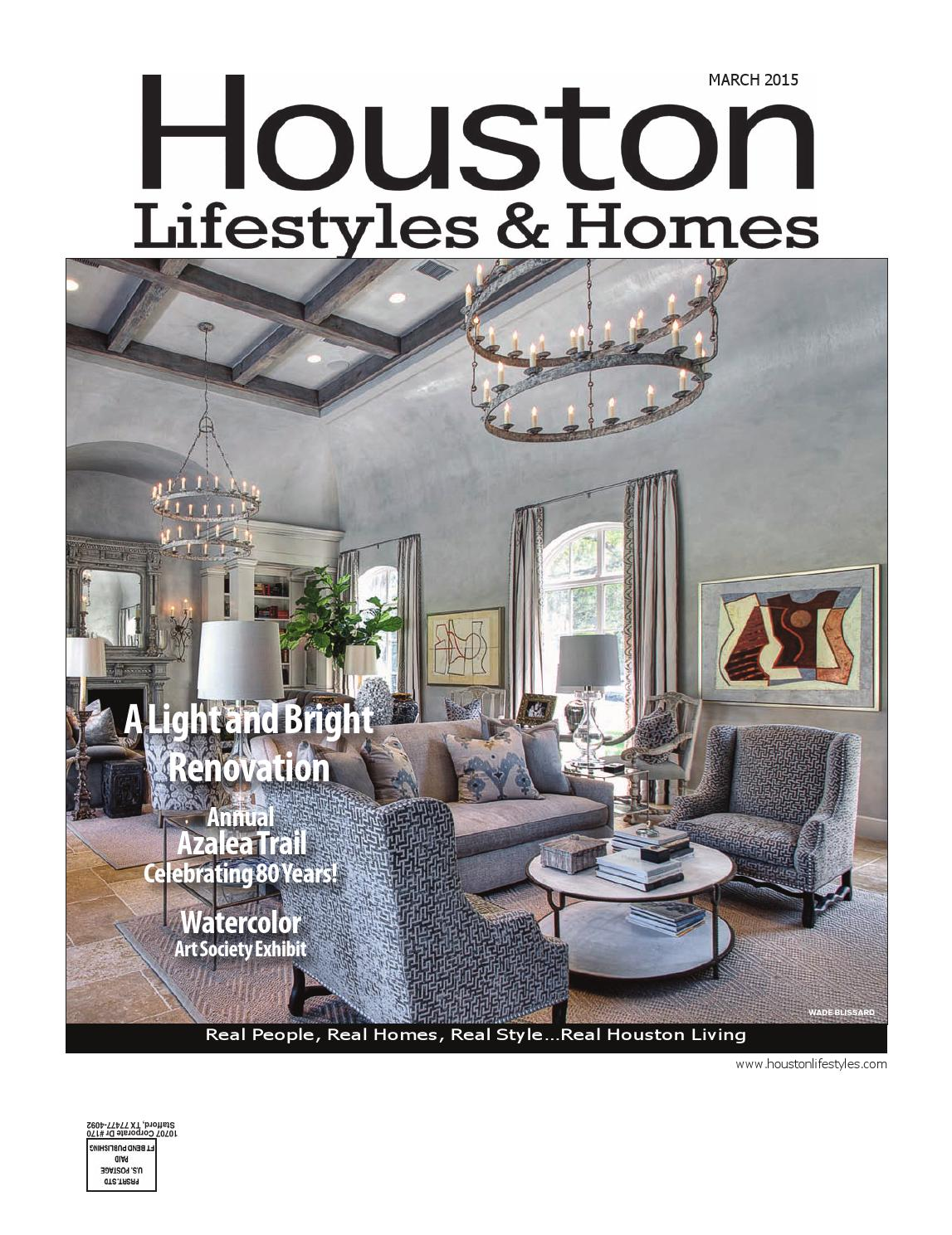 Watercolor art society houston tx - Houston Lifestyles Homes March 2015 By Lifestyles Homes Magazines Fort Bend Publishing Issuu