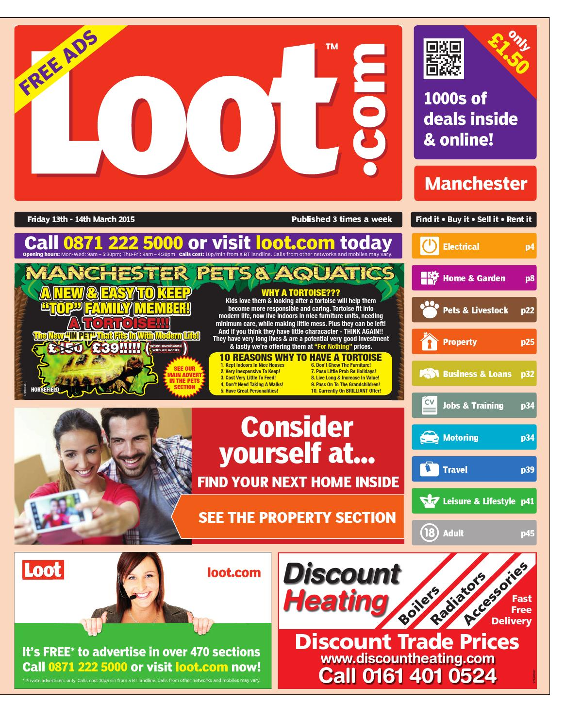 8e1fe0bd72f5 Loot Manchester, March 13th 2015 by Loot - issuu