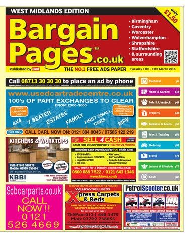 73449b3ce7c6 Bargain Pages West Midlands