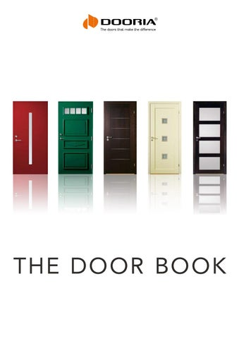 Page 1. the door book  sc 1 st  Issuu & Binnendeuren Dooria by Planhus Nederland - issuu