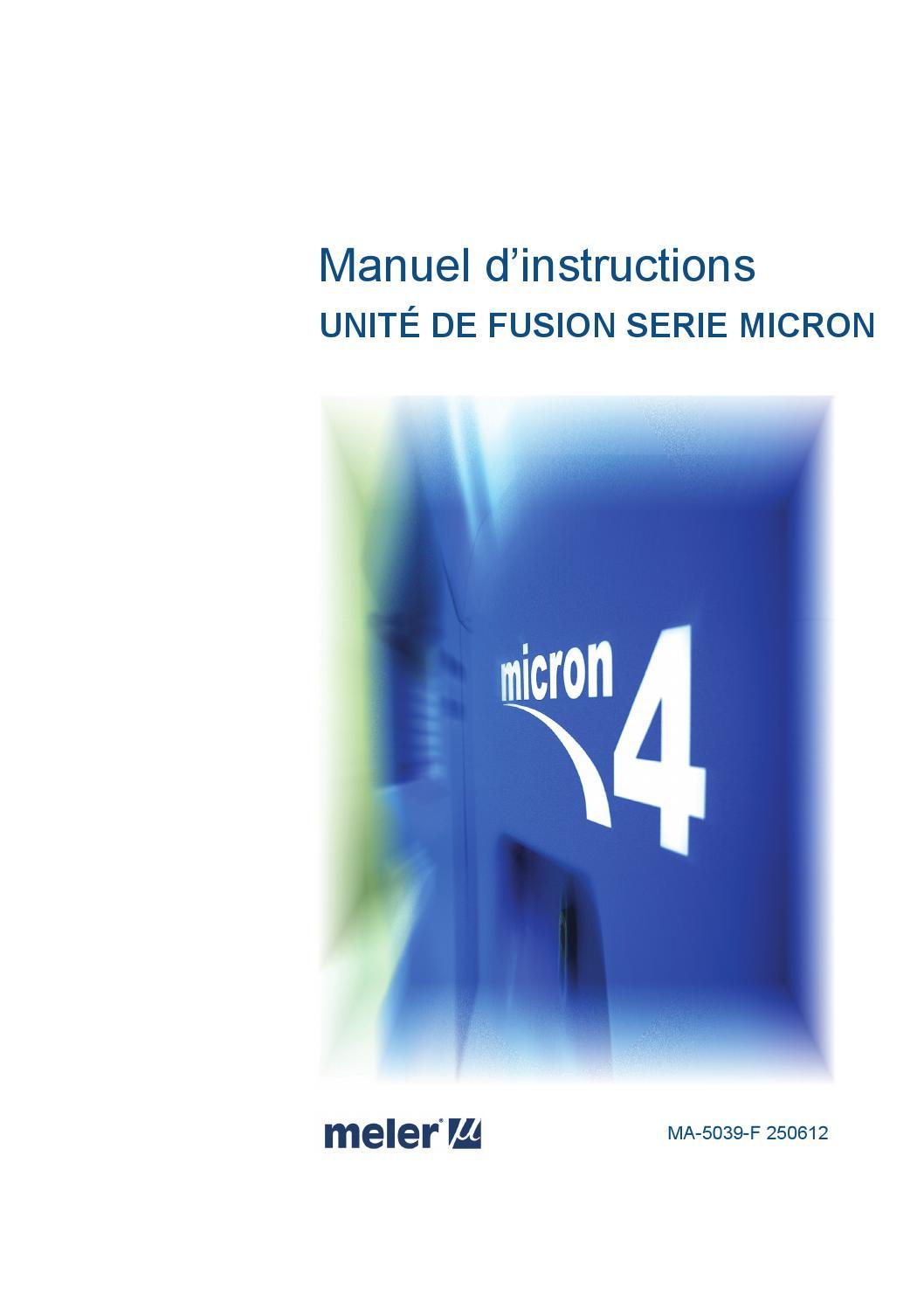 Micrón 4 Manual Serie Fra By Issuu Meler Nm8nw0