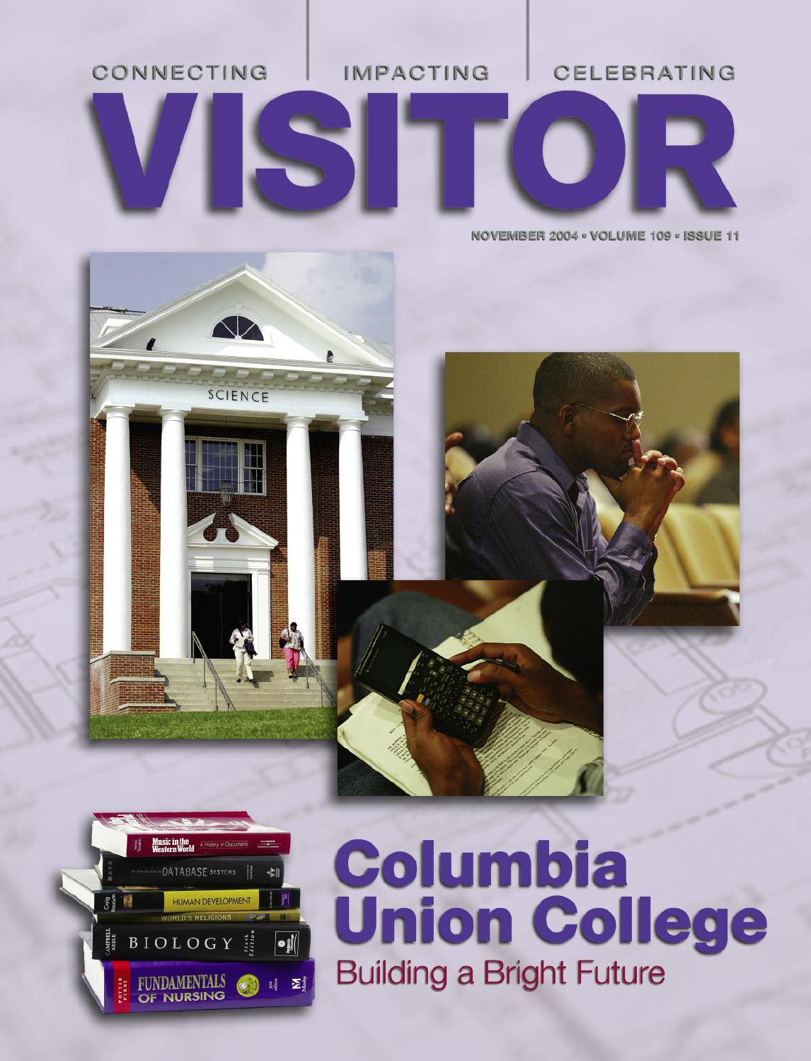 Columbia union visitor november 2004 by columbia union conference issuu