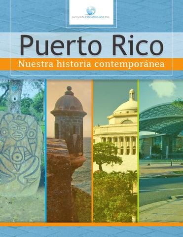 Puerto rico nuestra historia contempor nea 10mo by editorial panamericana inc issuu - Nacionalidad de puerto rico en ingles ...