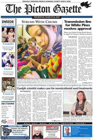 81f7ca53fd Picton Gazette Mar 26 2015 by The Picton Gazette - issuu