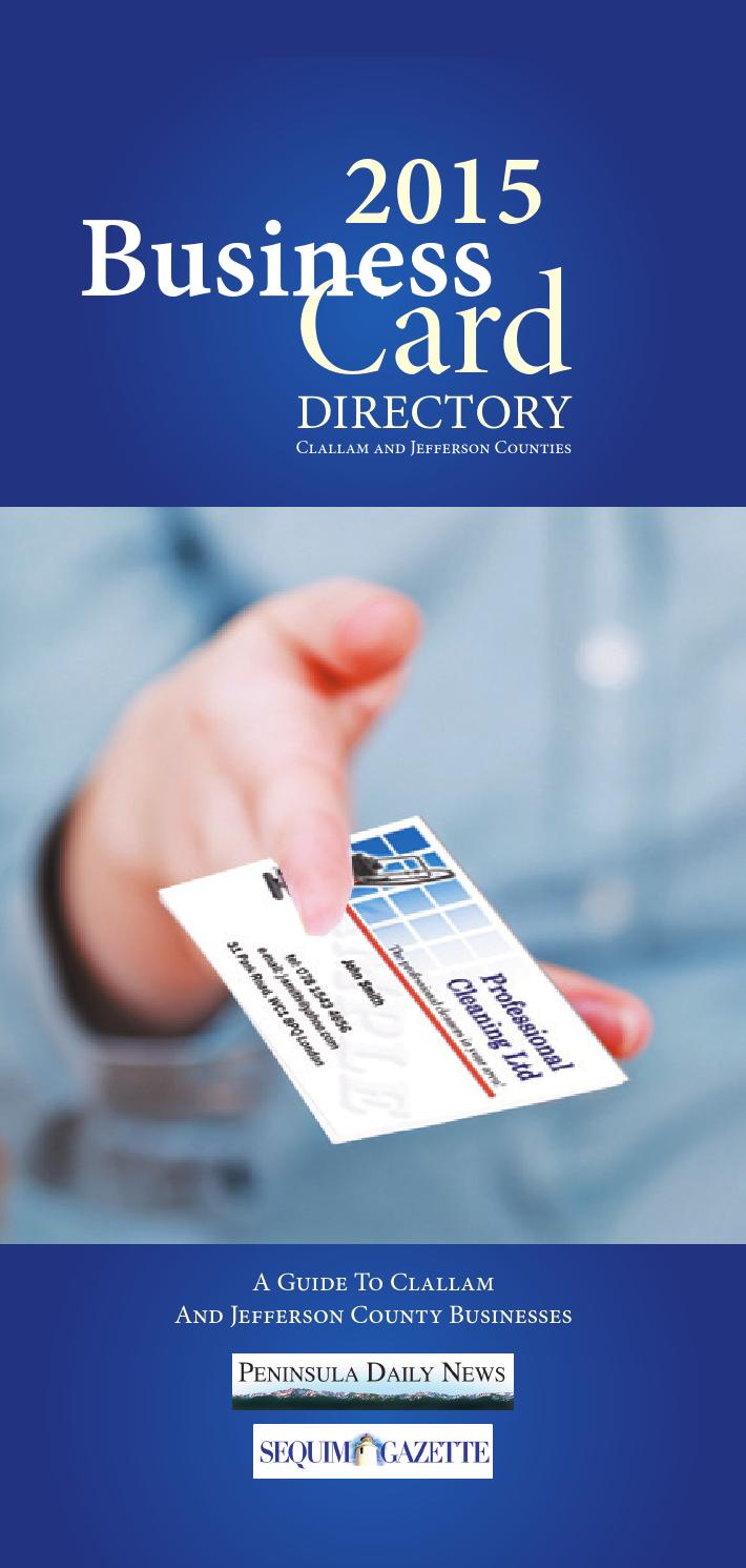 Special Sections - Business Card Directory by Sound Publishing - issuu