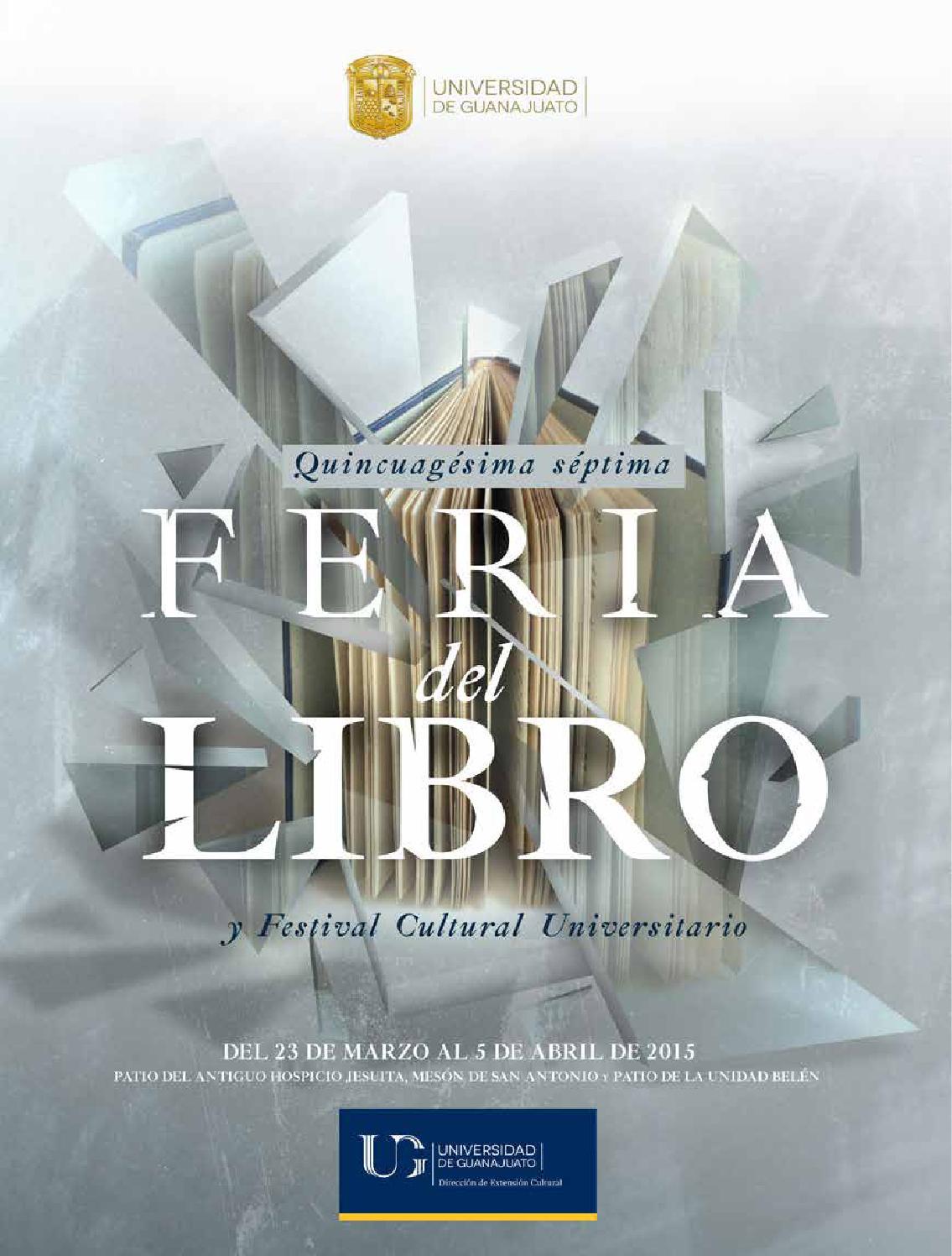 57 Feria del Libro y Festival Cultural Universitario, 2015 -extenso ...