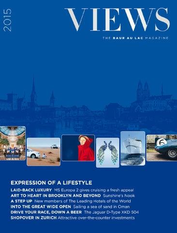 9ec344b5e42 Views - The Baur au Lac Magazine by Cinnamon Circle - issuu