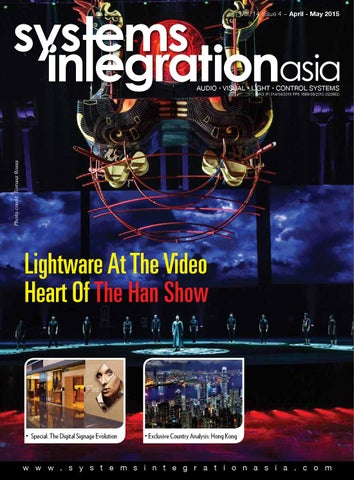 Systems Integration Asia April-May 2015