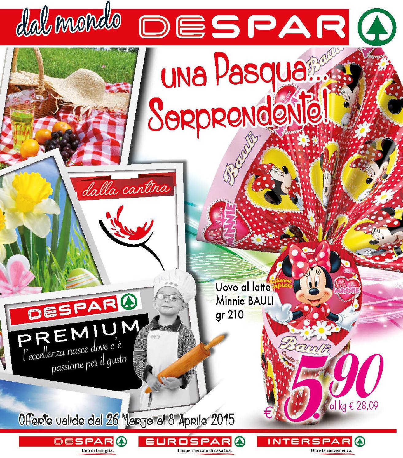 Volantino despar 26 marzo 8 aprile 2015 by despar for Volantino despar messina e provincia