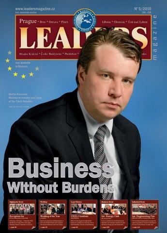 099e281e3ab Prague Leaders Magazine Issue 05 2010 by Czech   Slovak Leaders - issuu