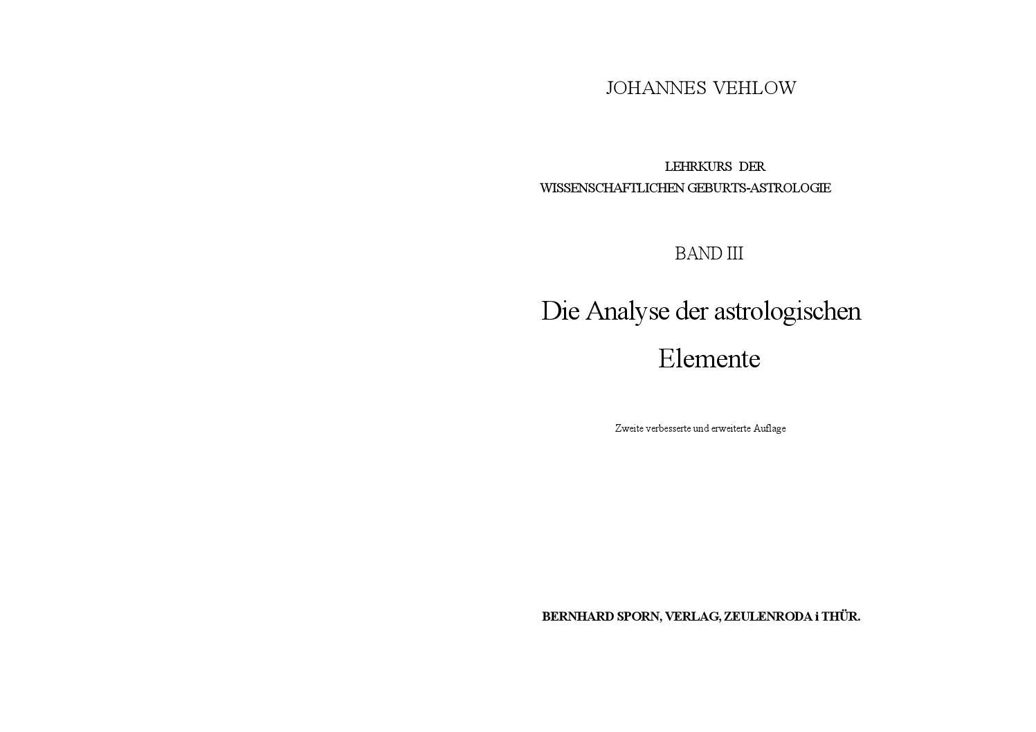 Johannes vehlow band iii by Umn Him - issuu